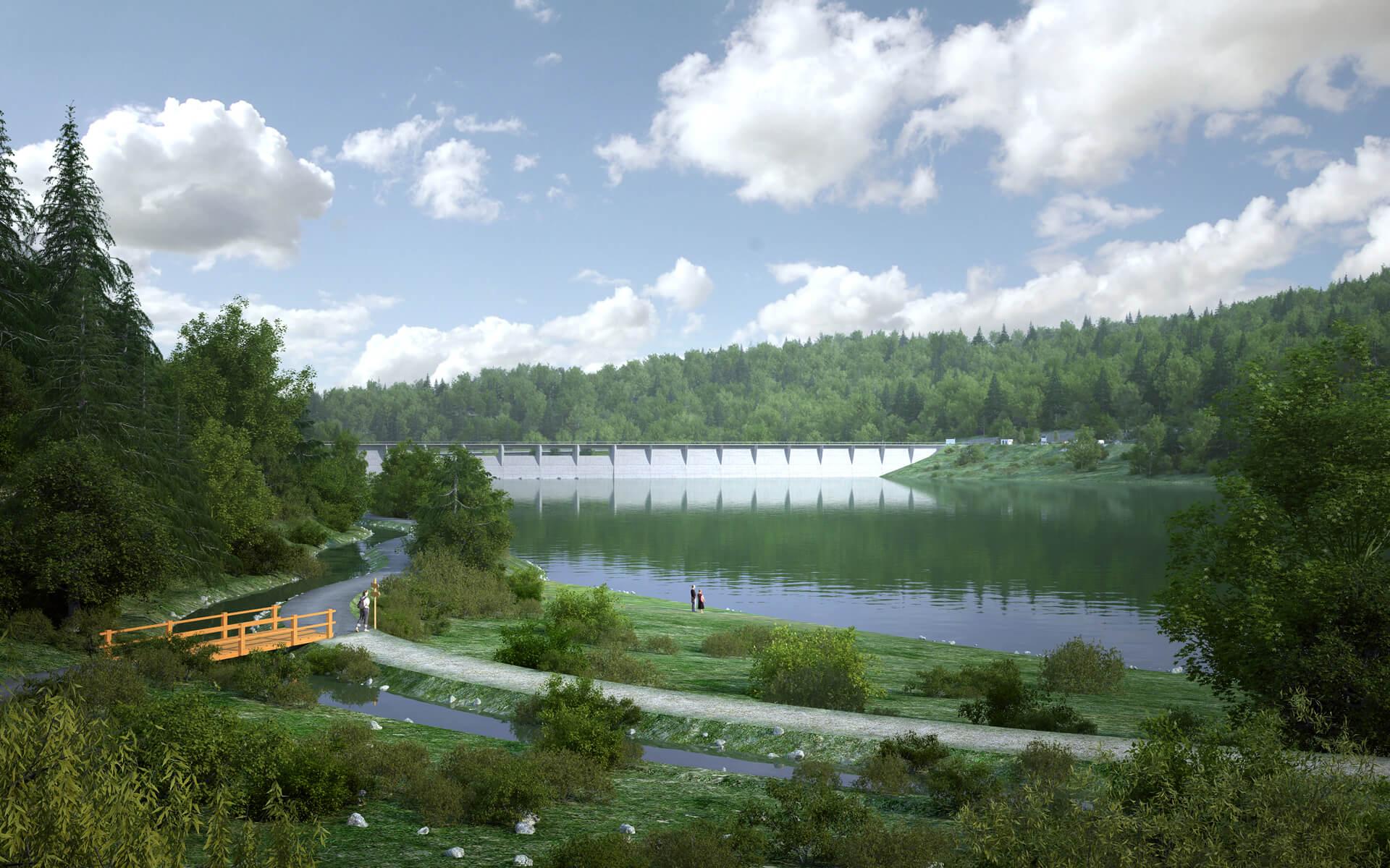 Hlavní účel přehrady Nové Heřminovy na řece Opavě