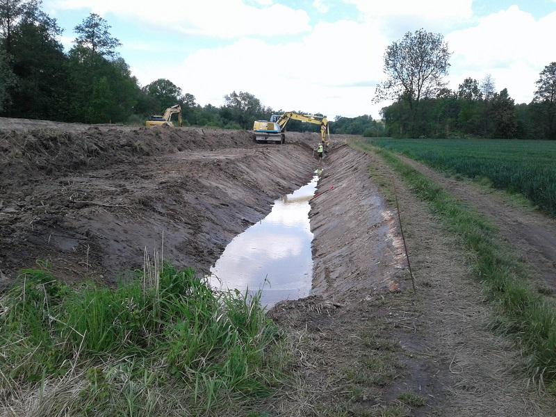 Pod Krnovem začala výstavba protipovodňové hráze na levém břehu řeky Opavy